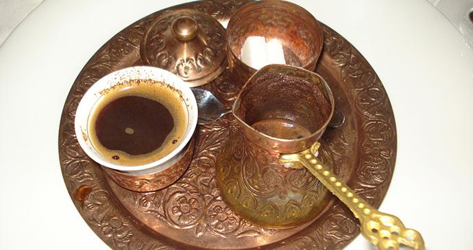 Bosnian coffee, Bosnia by Silverije, Wikimedia Commons