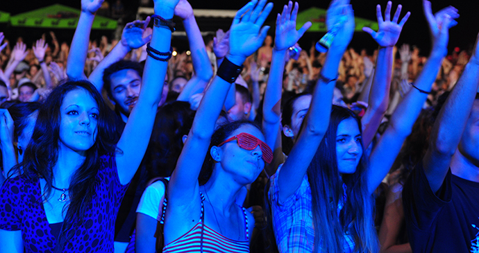 Demofest, Banja Luka, Bosnia by  Tourist Association of the Federation of Bosnia and Herzegovina