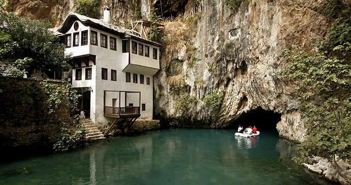 Tekija, Blagaj, Bosnia by Dan Tautan, Shutterstock