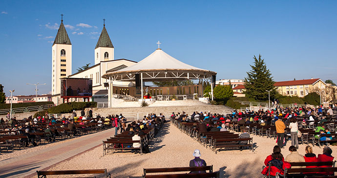 Međugorje, Bosnia by Hieronymus, Shutterstock