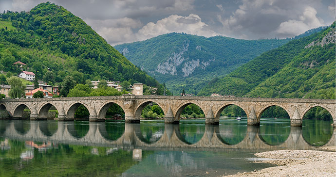Bridge, Višegrad, Bosnia by 369_photo, Shutterstock