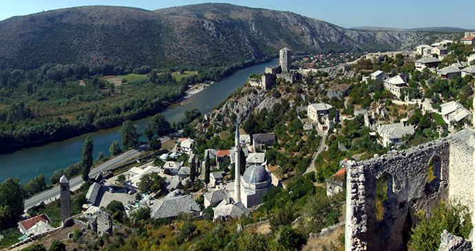 Počitelj, Bosnia by Pudelek, Wikimedia Commons
