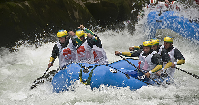 Rafting, Vrbas, Banja Luka, Bosnia by Tourist Association of the Federation of Bosnia and Herzegovina