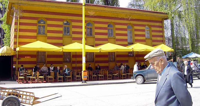 Zenica, Bosnia by AWI, Wikimedia Commons