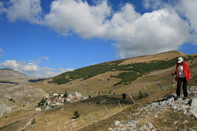 Hiking Lukomir Bosnia Via Dinarica by jimmy, Shutterstock