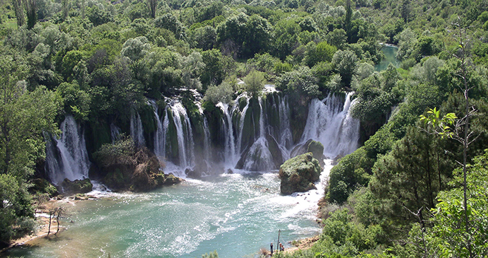 Kravica Waterfalls, Bosnia by Tim Clancy