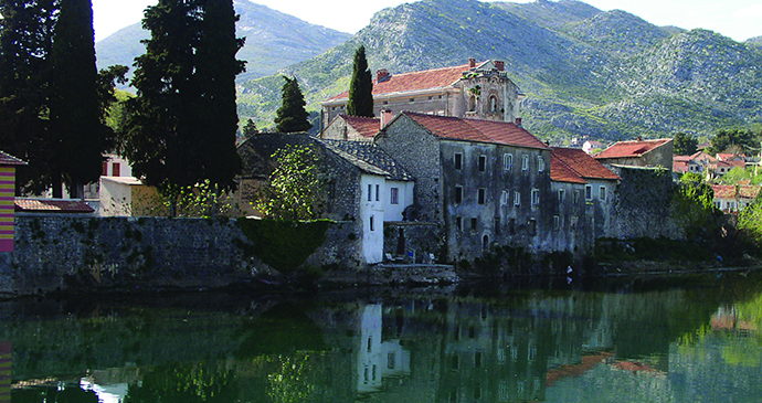 Trebinje, Bosnia by An idyllic spot in Trebinje © Tourist Association of the Federation of Bosnia and Herzegovina