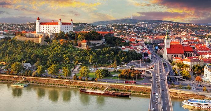 Historic Centre View Bratislava Slovankia by TTstudio Shutterstock
