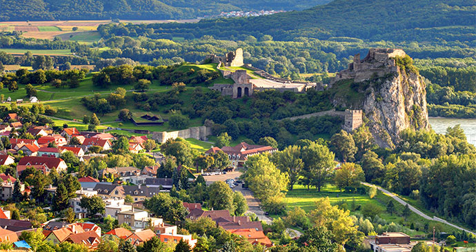 Devín Castle Bratislava Slovakia by TTstudio Shutterstock