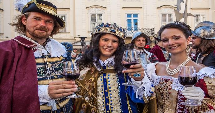 Coronation Celebration Bratislava Slovakia by DUOMEDIA