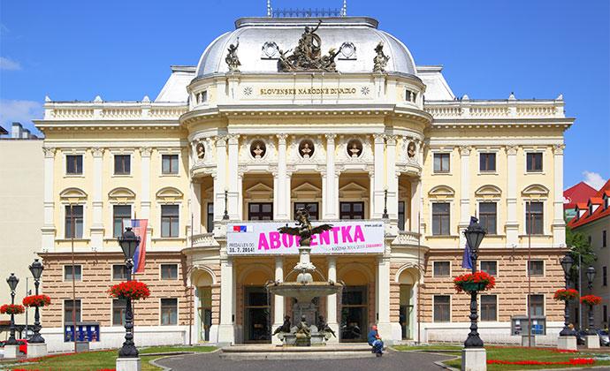 Slovak National Theatre Bratislava Slovakia by Roman Sigaev Shutterstock