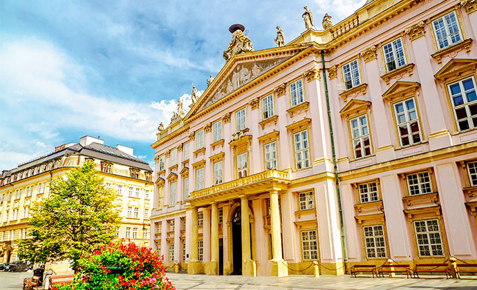Primate's Palace Bratislava Slovakia by Lyd Photography, Shutterstock