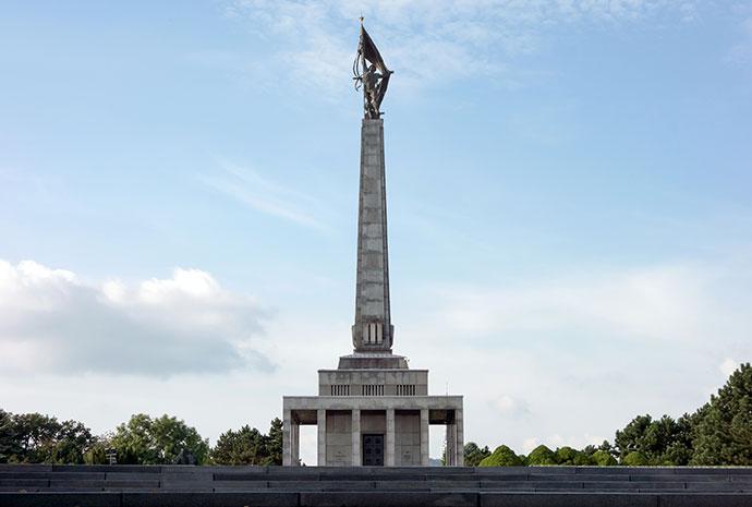 Slavin Monument Bratislava Slovakia by Mino Surkala Shutter