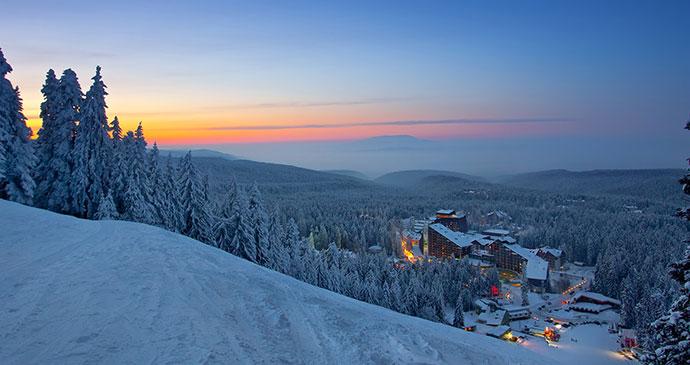 Borovets skiing Bulgaria by Borovets ski resort