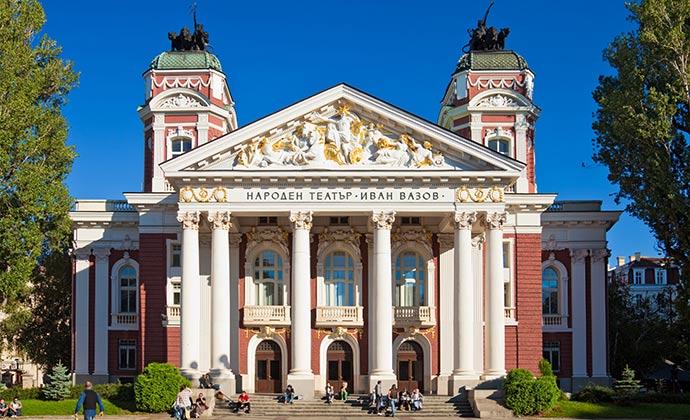 Ivan Vazov National Theatre Sofia by Nickolay Stanev Shutterstock