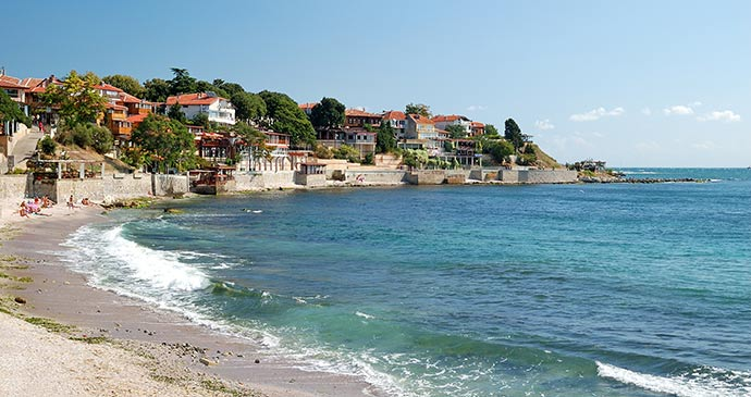 Beach Nesebur Black Sea Coast Bulgaria by windu Shutterstock