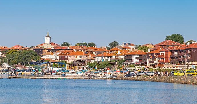 Nesebur Harbour Black Sea coast Bulgaria by Eugenesergeev Dreamstime