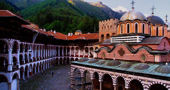 Rila monasterey Bulgaria © Bulgaria Ministry of tourism