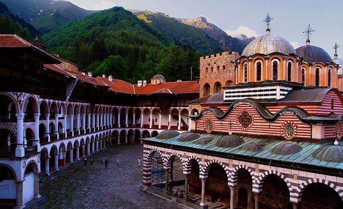 Rila Monastery Bulgaria by Bulgarian Ministry of Tourism
