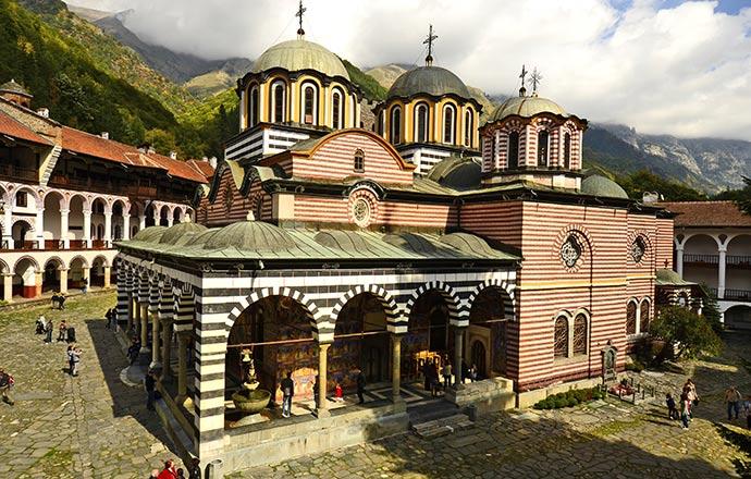 Rila Monastery Bulgaria by fritz16 Shutterstock