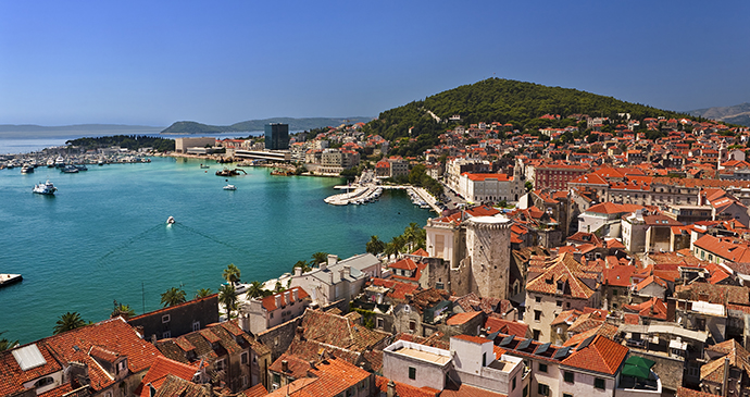 Diocletian's Palace Split Croatia by WitR, Shutterstock