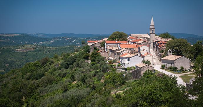 Draguć, Istria, Croatia by DeepGreen, Shutterstock