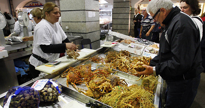 Fish market, Pula, Istria by Pula Tourist Board