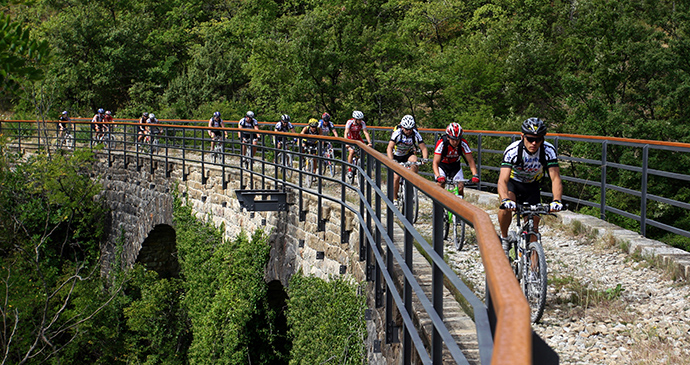Parenzana cycle route, Istria, Croatia by Istria Tourist Board
