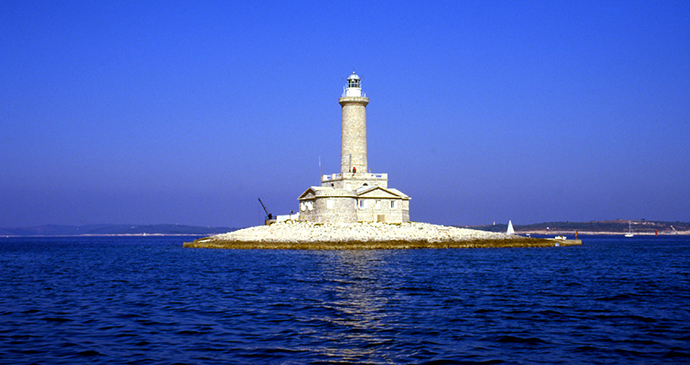 Porer lighthouse, Istria, Croatia by M.Prinke