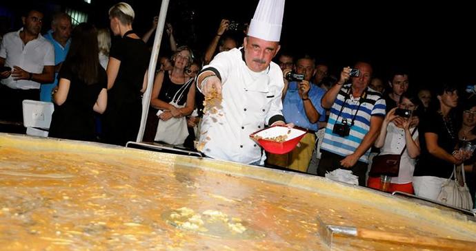 Truffle omelette, Buzet, Istria, Croatia by Istria Tourist Board