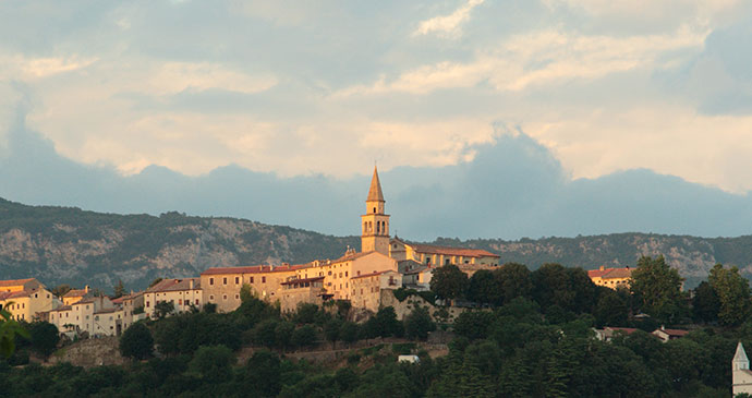 Buzet, Istria, Croatia by mina Shutterstock