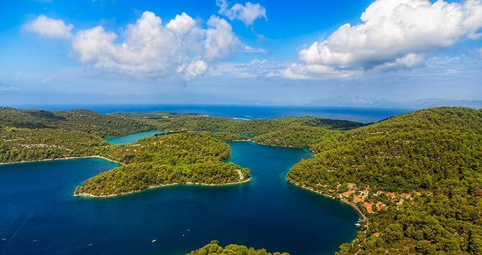 Monastery of Saint Mary, Mljet National Park, Croatia
