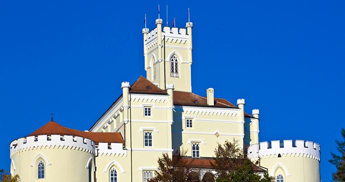 Trakošćan Castle Zagorje Croatia © Shutterstock