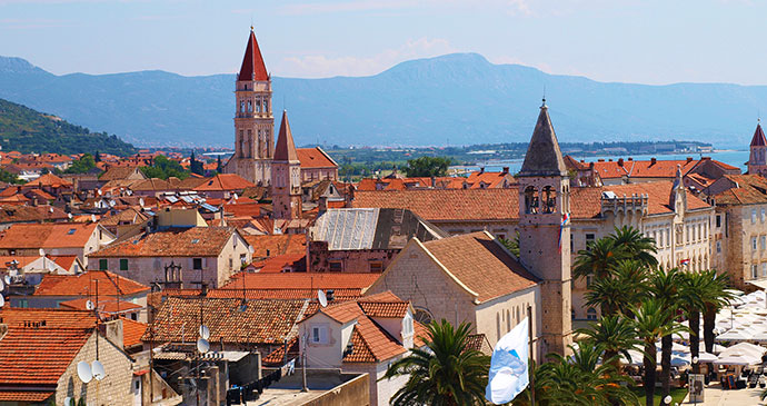Trogir Croatia UNESCO World Heritage Site Qypchak Wikimedia Commons