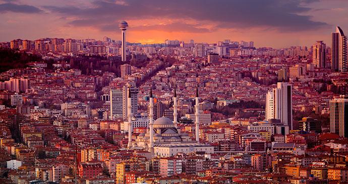 Ankara cityscape eastern turkey by muratart shutterstock