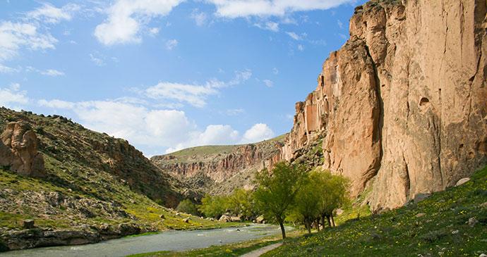 ihlara valley cappadocia eastern turkey by lenar musin shutterstock