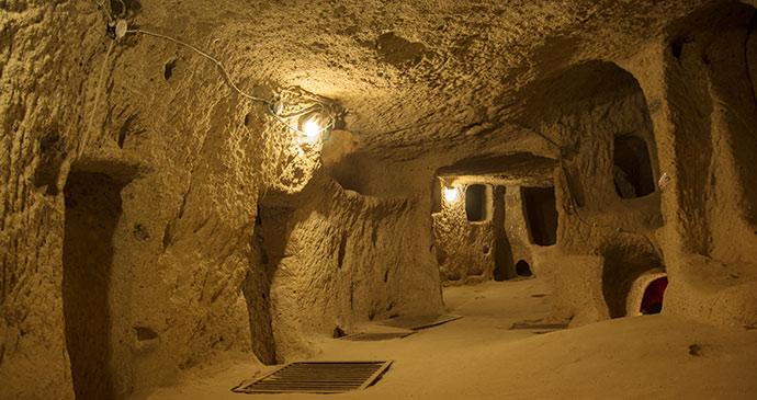 underground city kaymakli eastern turkey by ozgur guvenc shutterstock