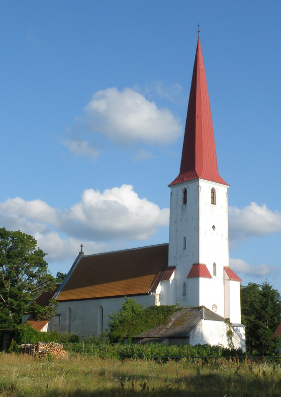 St Michael's church, Kihelkonna, Estonia by Epp, Wikipedia