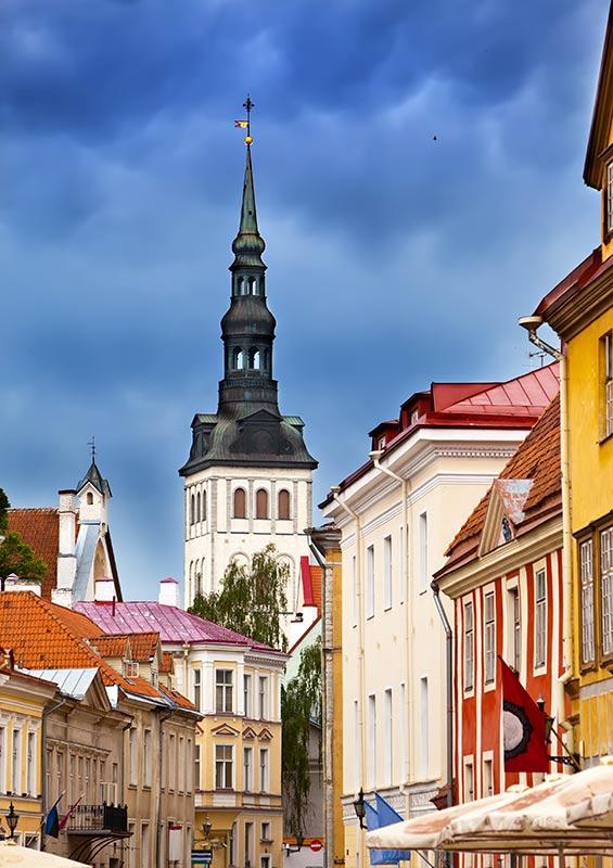 St Nicholas' church, Tallinn, Estonia by Kkulikov, Shutterstock