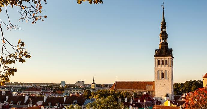 St Olaf's Church Tallinn Estonia b Shahid Ali Khan, Shutterstock