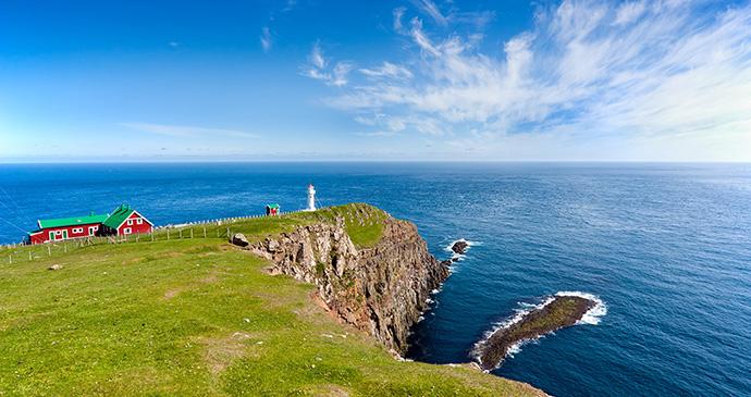 Akraberg, Faroe Islands by Spumador, Shutterstock