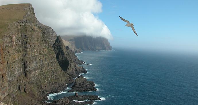 Beinisvørð cliffs, Faroe Islands by Erik Christensen, Wikimedia Commons
