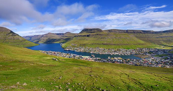 Klaksvík, Faroe Islands by Nick Fox, Shutterstock