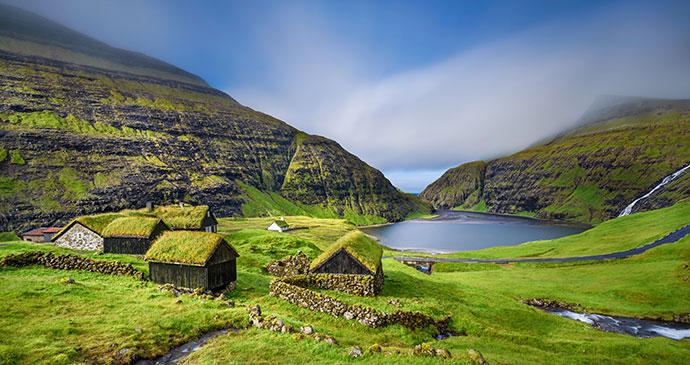 Saksun, Faroe Islands by Nick Fox, Shutterstock
