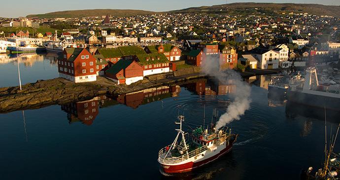 Tórshavn, Faroe Islands by Roland Zihlmann, Shutterstock