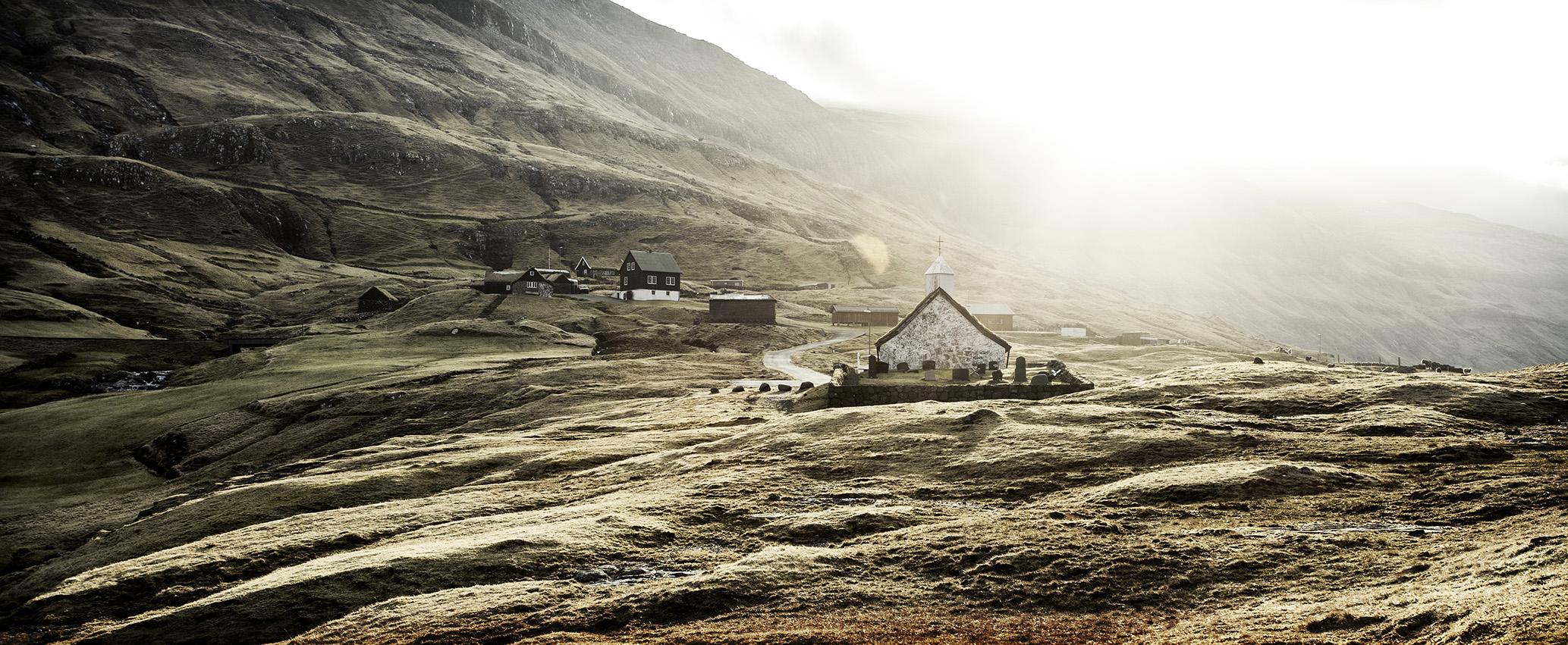Saksun Faroe Islands by Hendrik Bruckner