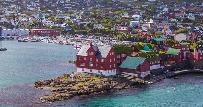 Torshavn Faroe Islands Europe by Axel Lauer Shutterstock
