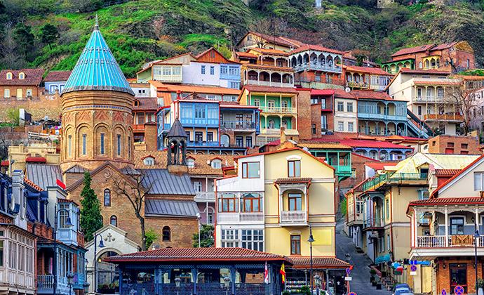 Old Town, Tbilisi, Georgia by Boris Stroujko, Shutterstock