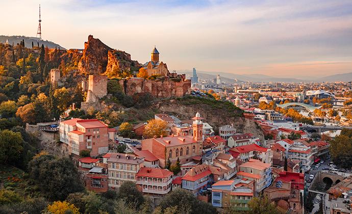 Tbilisi, Georgia by MiGol, Shutterstock