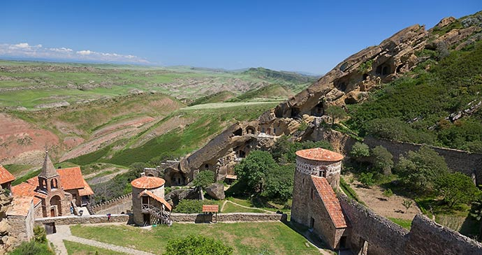 Davit-Gareja cave monastery Georgia by claire, Shutterstock
